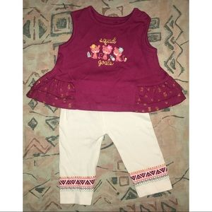 Baby girls Squad Goals outfit